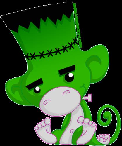 Frankenstein's monster monkey