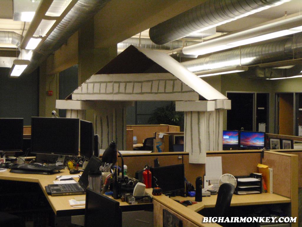 Office Mayhem 171 Bighairmonkey