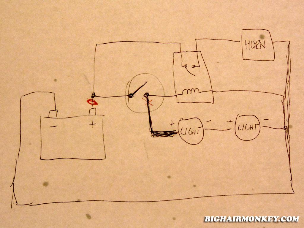 Fantastisch Wolo Horn Schaltplan Bilder - Schaltplan Serie Circuit ...