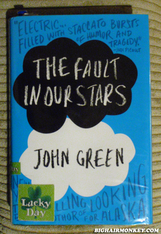 Losing myself in a book bighairmonkey tfios the fault in our stars by john green solutioingenieria Image collections