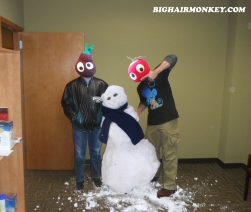snowman in your office