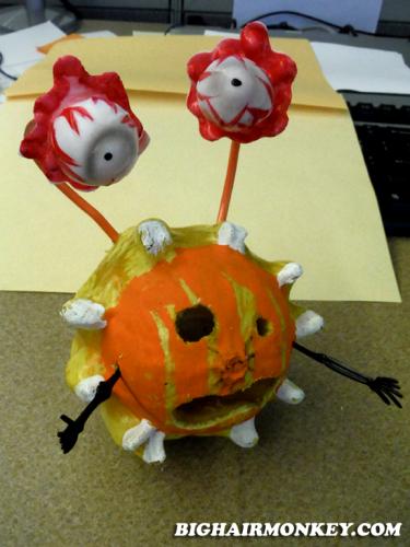cannibal Pumpkin jack o lantern halloween