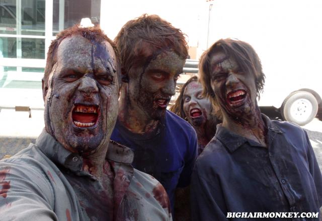 new Zombie Makeup Z Nation