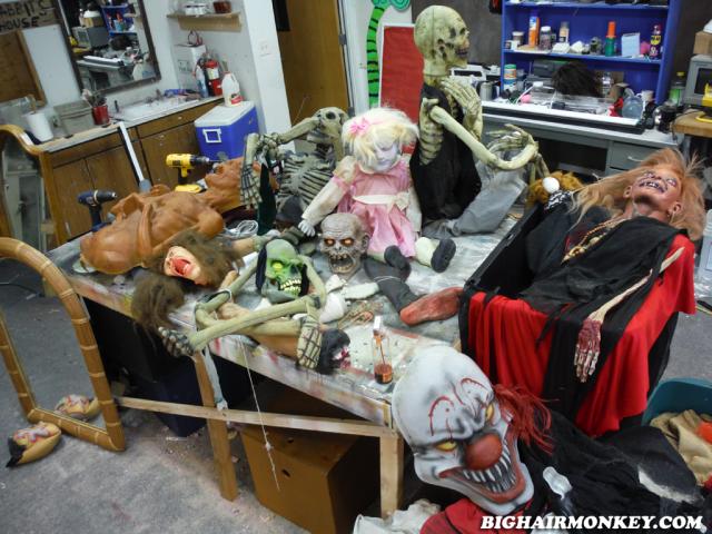 haunted Workshop