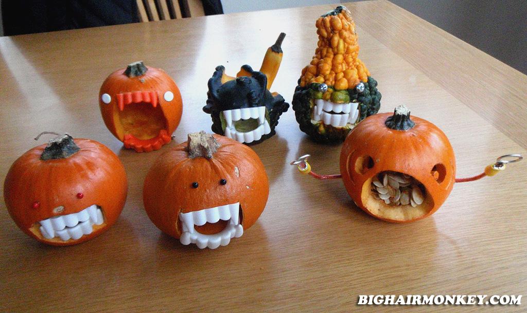 Carving Pumpkins Into Jack O Lanterns Bighairmonkey